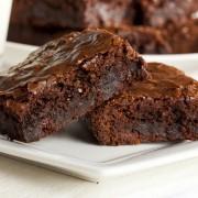 Decadent dessert recipe: homemade brownies