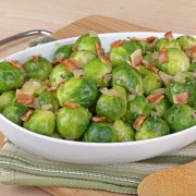 2 spectacular side dishes: Brussels sprouts and molasses-glazed onions