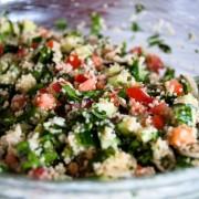 2 whole-grain salads with bulgur