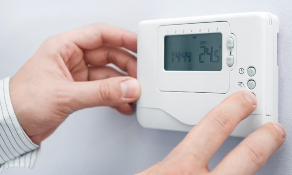 Is it cheaper to heat a home steadily all day long?
