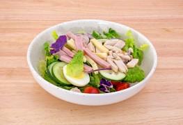 Dinner tonight: Italian chef salad