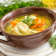 Recipe: Comforting, homemade chicken soup