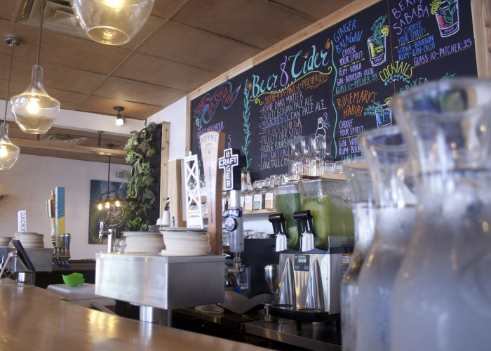 Chickpea expands on the food truck's offerings, and includes a variety of beverage options, including craft beer, cider and Kefir.