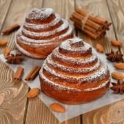 Decadent desserts: holiday cinnamon rolls