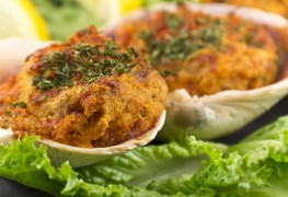 What to make for dinner tonight: baked spinach-stuffed clams