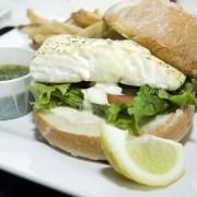 Dinner tonight: New England cod burgers