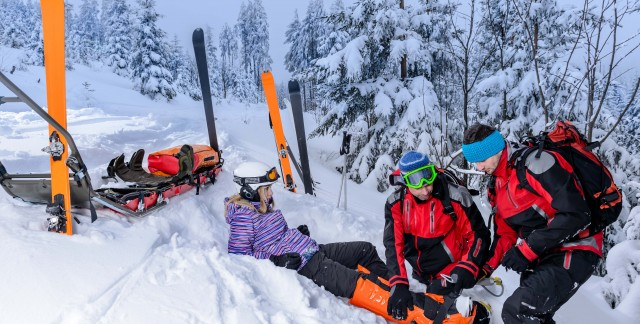 How to avoid common leg injuries on the slopes