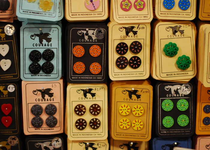 From specialty buttons to vintage adventure hats, Courage my Love is an emporium of cool finds