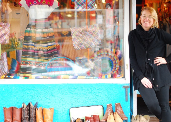 Cece Scriver is the co-owner of Courage my Love, located in eclectic Kensington Market.