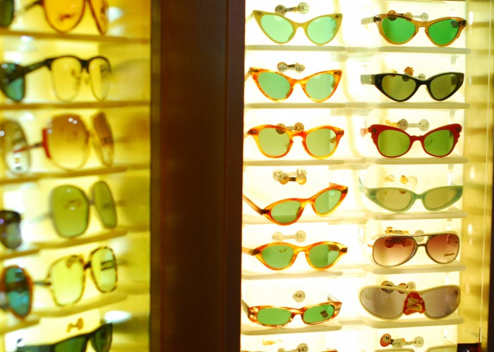 The vintage sunglasses at Courage My Love are sure to add a dash of style to a basic outfit.
