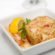 Dinner tonight: Baltimore seafood cakes