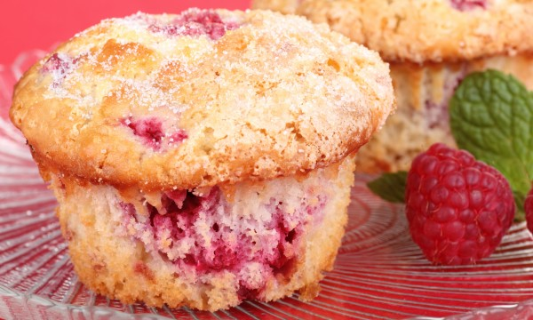 Savoury side dish: homemade cranberry cheddar muffins