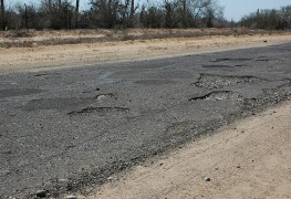 Vehicle insurance reimbursement and damaged roads