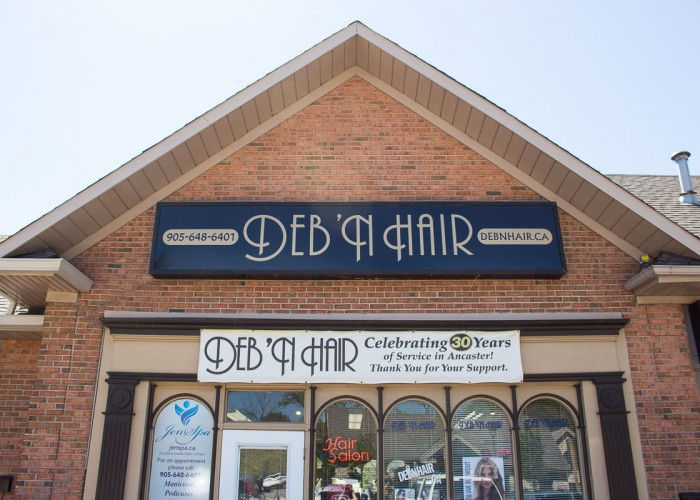 Deb 'n Hair, located in Hamilton, offers salon and spa services