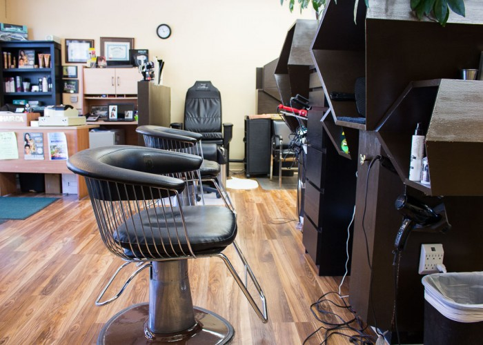 Deb 'n Hair started as a hair salon and expanded to include a spa within the salon, with services including lash tinting and pedicures