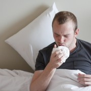 What causes dry cough after a cold?