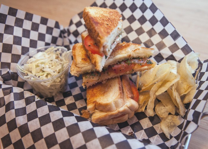Edwina's Grilled Cheese, Grilled cheese sandwiches, cheeses, chili, soup, smoothies, juices, coffee