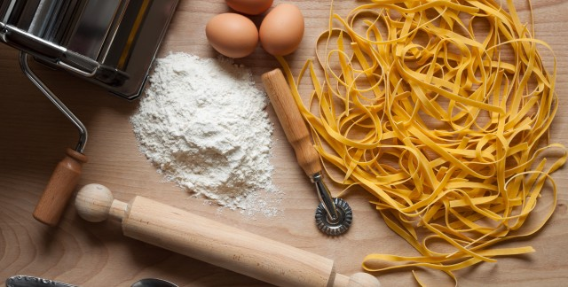 Homemade egg pasta recipe