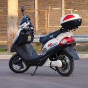 Learn to power through your day by charging an electric scooter
