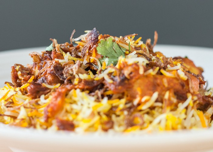 Ember Indian Kitchen's menu is inspired by the fusion of India and East Africa.