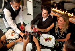 Refresher course on table manners and entrances