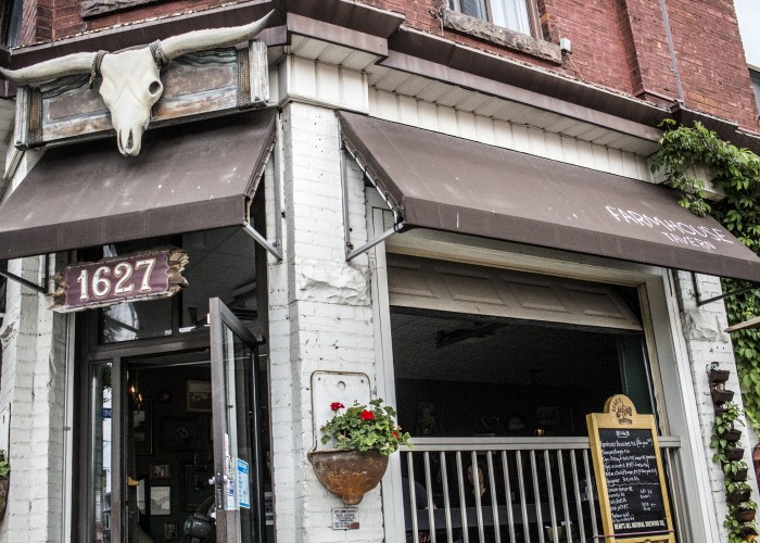 Farmhouse Tavern is located in Toronto's Junction Triangle.