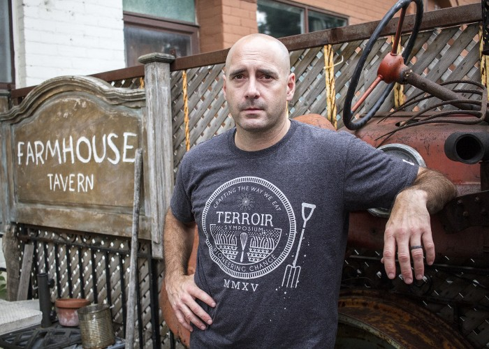 Farmhouse Tavern owner Darcy MacDonell has seen the Junction Triangle neighbourhood flourish since opening on Dupont Street in the spring of 2012.