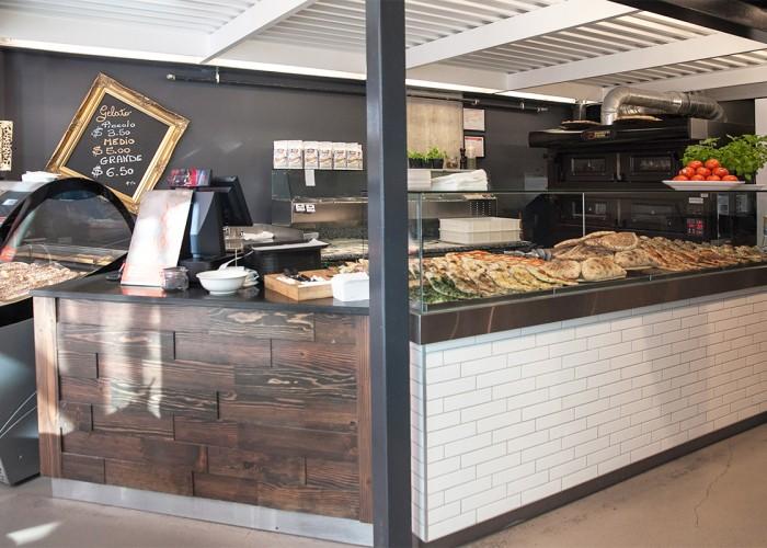 Al Metro pizzas, homemade gelato, gelato cart for special events