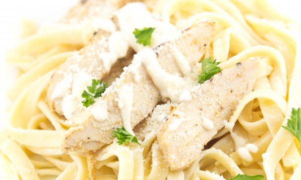 2 pasta recipes with rich, creamy sauces