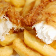 Dinner tonight: fish and chips