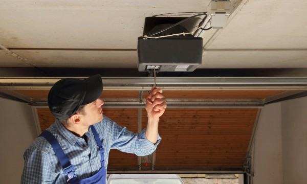 Easy fix for a jammed garage door