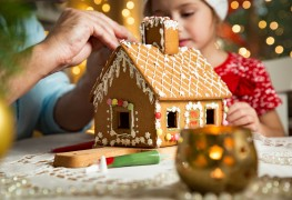 6 fun and easy ideas for a Christmas gingerbread house
