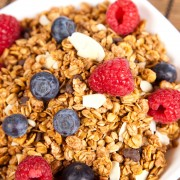 2 homemade granola and oatmeal recipes