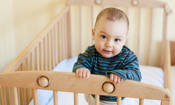 Made with love: homemade baby cribs