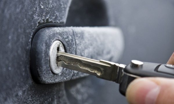 Image result for frozen car lock