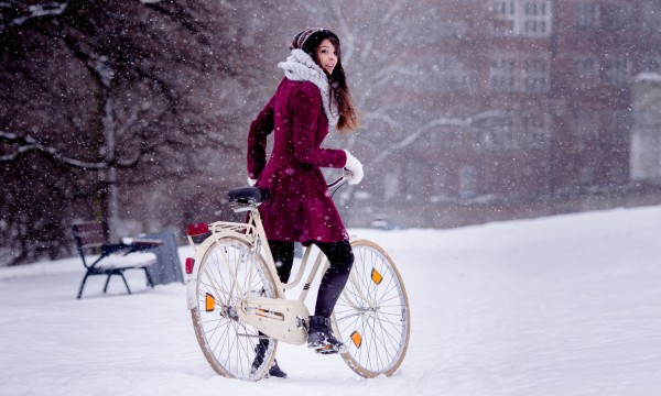 Braving Calgary's winters by bike
