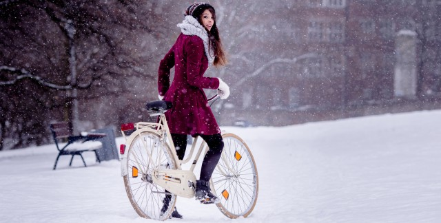 Braving Calgary's winters by bike