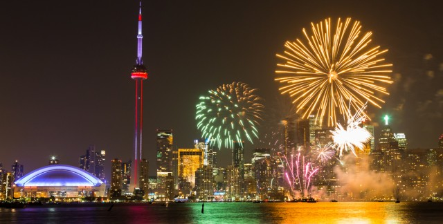 Where to watch Victoria Day fireworks in Toronto