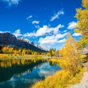Soak in the fall in Banff and Canmore
