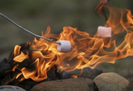 How to start a campfire safely