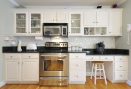 The benefits of semi-prefabricated kitchen cabinets