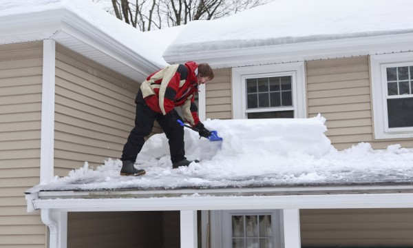 Is there too much snow on my roof?