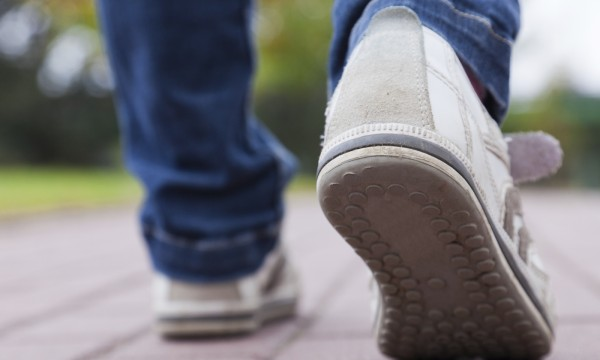 Choosing the right walking shoes
