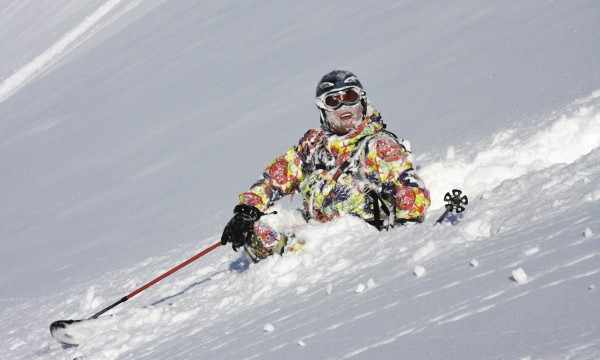 Do you have a headache after a ski fall?