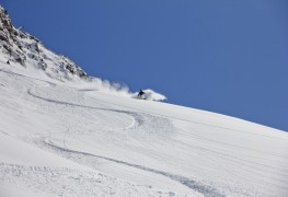 Enjoy the back country with powder snow skiing