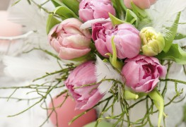 5 ways to create an eye-catching Easter flower arrangement