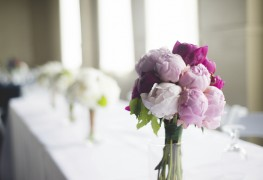 Make an unforgettable wedding day peony flower bouquet