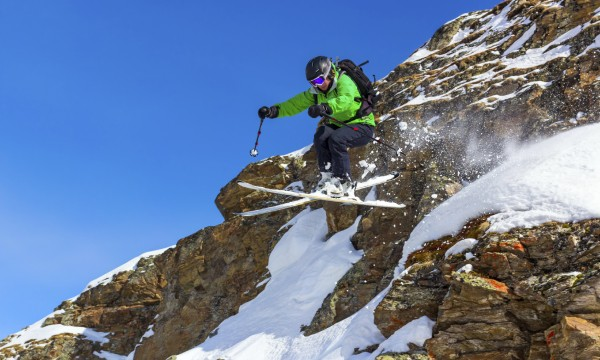 What is alpine skiing and how does it work?