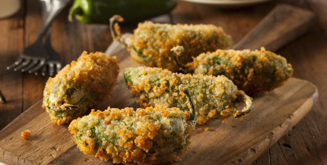 Delicious bites: jalapeño poppers and barbecued nutballs
