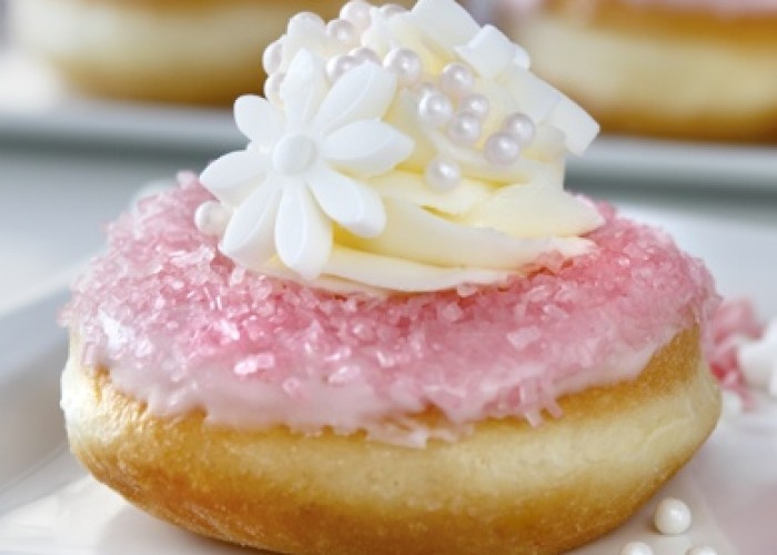 Jelly Modern Doughnuts created beautiful delicious doughnuts by hand with handmade decorations and custom fillings